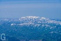 岩木山9合目付近からの白神山地