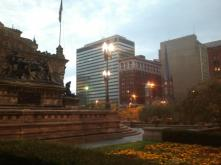Base of the Soldiers and Sailors Monument