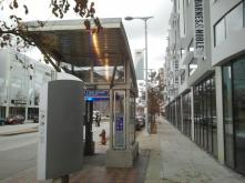 Healthline station at Uptown