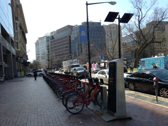 Bikestation at Farragut Square