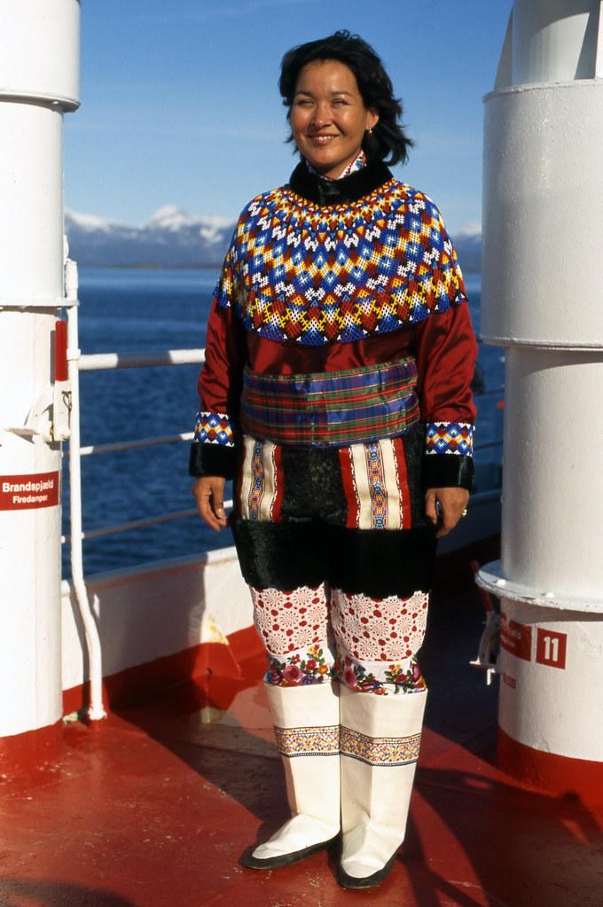 Greenland woman