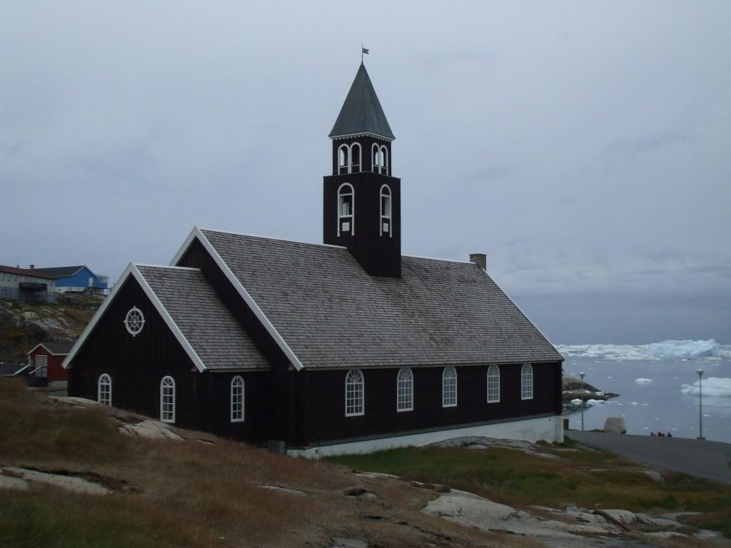 Ilulissat Eglise Groenland