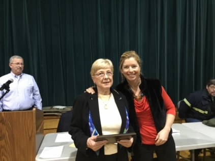 2015 Citizen of the Year Kathy Rugg