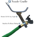 100-FOOT-Green-Expanding-Garden-Hose-NEW-2016-Design-Strongest-Expandable-Hose-DOUBLE-LAYER-Latex-Core-SOLID-BRASS-Fitting-TOUGH-Nylon-Fabric-Spray-Nozzle-STAINLESS-STEEL-Holder-0-1