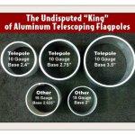 20-Telepole-Superior-1-Telescoping-Flagpole-275-Base-Diameter-10-Gauge-Aluminum-Silver-0-0