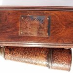 20-inch-Brass-Spyglass-Ship-Telescope-Leather-Bounded-with-Rose-Wood-Box-C-3091-0