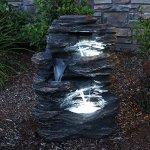 24-Rock-Waterfall-Garden-Fountain-w-LED-Lights-Perfect-Garden-Water-Feature-Patio-Fountain-Outdoor-Fountain-Features-Elegant-Waterfall-Flow-0-1
