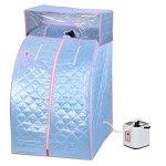 2L-Portable-Steam-Sauna-Personal-SPA-Slimming-w-Cover-Blue-0-0