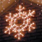 36-LED-Folding-Twinkle-Snowflake-Christmas-Decoration-Cool-White-Lights-0