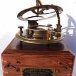 5-Inch-Perfectly-Calibrated-Large-Sundial-Compass-Rosewood-Case-Top-Grade-C-3050-0-1