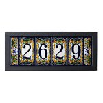 5-tile-Contemporary-House-Address-Plaque-0
