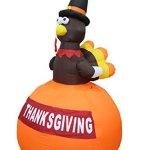 6-Foot-Tall-Happy-Thanksgiving-Inflatable-Turkey-on-Pumpkin-Yard-Art-Indoor-Outdoor-Decoration-0-1