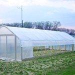 Agfabric-12ft-x-25ftGreenhouse-Clear-Plastic-Film-Polyethylene-CoveringDIY-Gardening-Film55mil-0-1