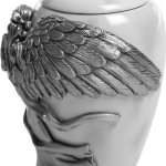 Angelstar-Angels-Embrace-Pewter-Urn-5-Inch-8-Cubic-Inch-0-0