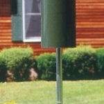 Birds-Choice-Classic-Bird-Feeder-with-Built-In-Squirrel-Baffle-and-Pole-Green-0