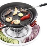 Casa-Moda-Smokeless-Tabletop-Grill-with-Ceramic-Tray-0