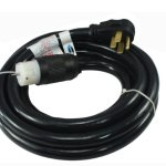 Conntek-1450SS2-15-15-Foot-Temporary-Power-Cord-50-Amp-125250-Volt-NEMA-14-50P-Generator-Plug-to-CS6364-Locking-Connector-0