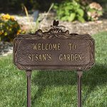 Customized-Dragonfly-Garden-Plaque-2-Lines-0