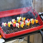 Easy-Street-Electric-Cart-Grill-with-two-folding-composite-wood-side-tables-shelf-and-rotisserie-0-1