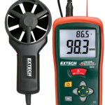 Extech-CFMCMM-Mini-Thermo-Anemometer-with-built-in-Infrared-Thermometer-0