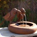 Folk-Art-Crows-Fountain-0