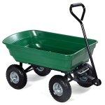 Giantex-650lb-Garden-Dump-Cart-Dumper-Wagon-Carrier-Wheel-Barrow-Air-Tires-Heavy-Duty-0