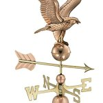 Good-Directions-1776P-American-Eagle-Weathervane-Polished-Copper-0