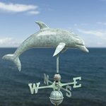 Good-Directions-9507V1-Dolphin-Weathervane-Blue-Verde-Copper-0-0