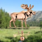Good-Directions-9557P-Moose-Weathervane-Polished-Copper-0-0
