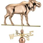 Good-Directions-9557P-Moose-Weathervane-Polished-Copper-0