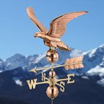 Good-Directions-955P-Smithsonian-Eagle-Weathervane-Polished-Copper-0-1