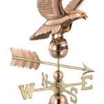 Good-Directions-955P-Smithsonian-Eagle-Weathervane-Polished-Copper-0