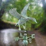 Good-Directions-9605V1-Landing-Duck-Weathervane-Blue-Verde-Copper-0-0