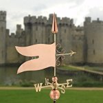 Good-Directions-9628P-Banner-Weathervane-Polished-Copper-0-0