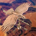 Good-Directions-9699PA-Soaring-Hawk-Weathervane-Polished-Copper-0-1