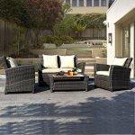 Goplus-4-PCS-Brown-Wicker-Cushioned-Rattan-Patio-Set-Garden-Lawn-Sofa-Furniture-Seat-0-0