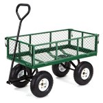 Gorilla-Carts-Steel-Garden-Cart-with-Removable-Sides-with-a-Capacity-of-400-lb-Green-0