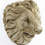 Italian-Lion-Head-Concrete-Wall-Plaque-10-inches-H-x-10-inches-W-0-0