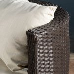 Kyoto-Outdoor-Patio-Furniture-Brown-Wicker-3-piece-Chat-Set-w-Cushions-0-0
