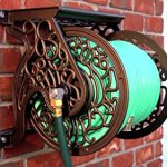 Liberty-Garden-Products-Decorative-Non-Rust-Cast-Aluminum-Wall-Mounted-Garden-Hose-Reel-With-125-Foot-Capacity-Antique-Finish-704-0-0