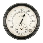 Luster-Leaf-Lincoln-20057-Thermometer-with-Clock-0