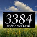Maintenance-Free-Stove-Enamel-House-Number-Plaque-with-laser-engraved-detail-0