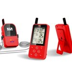 Maverick-ET-733-Long-Range-Wireless-Dual-Probe-BBQ-Smoker-Meat-Thermometer-Set-NEWEST-VERSION-With-a-Larger-Display-and-added-Features-0