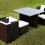 Merax-9-Pc-Modern-IndoorOutdoor-All-Weather-PE-Wicker-Rattan-Table-Patio-Set-Gardern-Furniture-Dining-Sets-0-0
