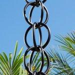 Monarch-International-Aluminum-Ring-Rain-Chain-85-Feet-Black-0-0