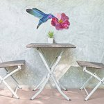 Next-Innovations-WA3DHUMMIFLRFS-CB-Hummingbird-with-Flower-Refraxions-3D-Wall-Art-Fuchsia-0-0