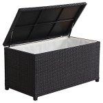 Patio-StorageOutdoor-Storage-BoxOutdoor-Black-Wicker-Cushion-StorageMade-Of-Aluminum-Frame-Polyester-Inner-Bag-Fabric-0