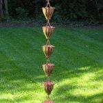 Quest-FL01-Fluted-Cup-Copper-Rain-Chain-0-0