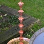 Quest-FL01-Fluted-Cup-Copper-Rain-Chain-0-1