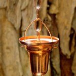 Rain-Chain-Pure-Copper-by-Golden-Canary-6-Foot-Long-Ready-to-Install-in-Gutter-Decorative-Downspout-Replacement-for-Collecting-Water-in-a-Barrel-0-4